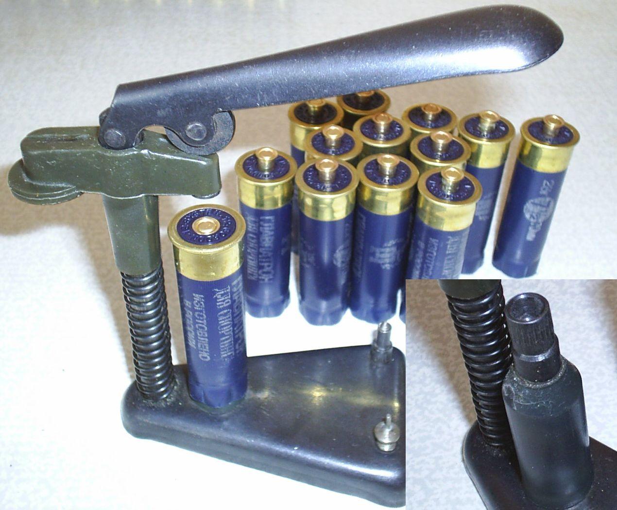 Все для снаряжение патронов